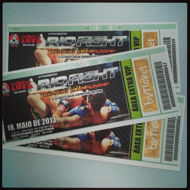 Ingressos 3ª Ed Rio Fight