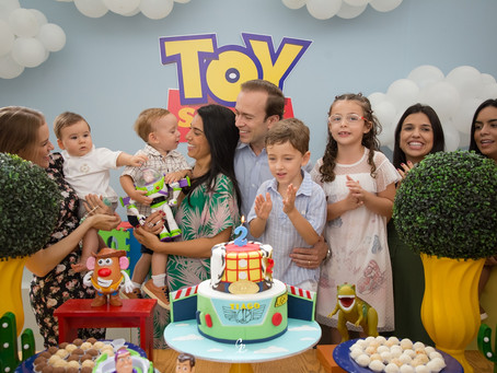 Aniversário 2 Anos Tiago Pimenta