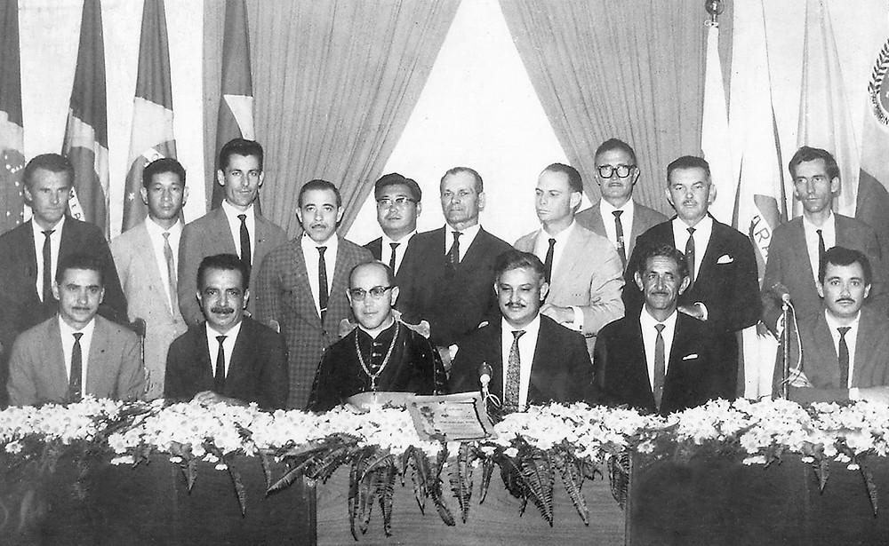 Reunião do Sindicaro no qual meu avô Elydio fez parte.