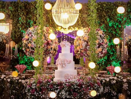 Decore com flores seu Casamento
