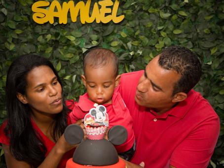 Samuel faz 1 aninho!