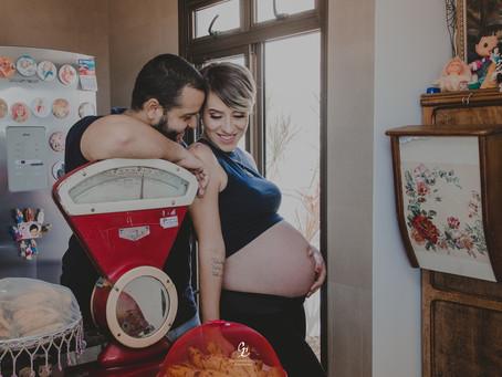 A espera pelo bebê surpresa ♥