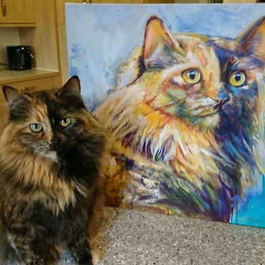 Hilda and her Portrait