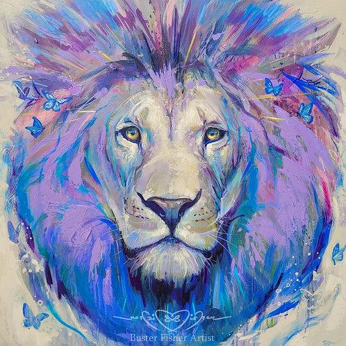 Lavender Lion