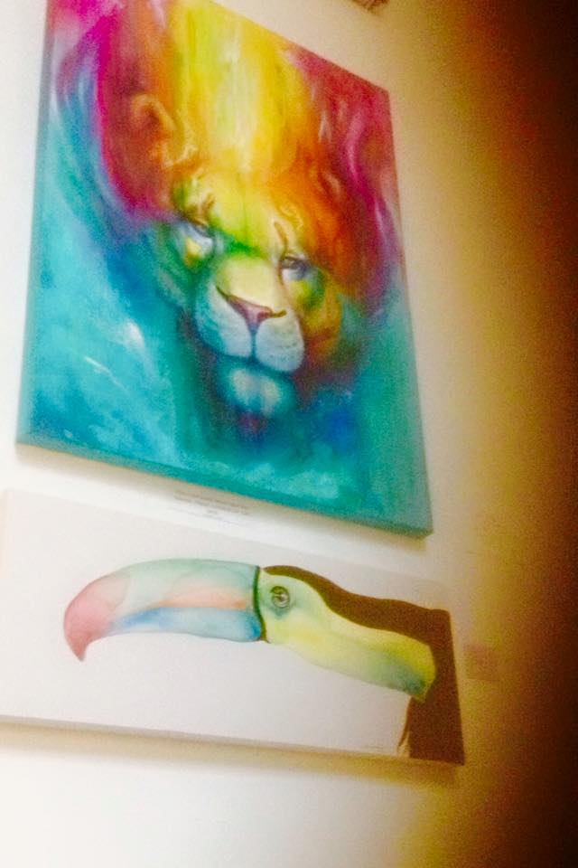 Hung together at P Spowage gallery