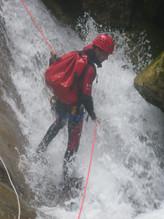 canyoning gours du Ray