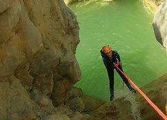 canyonin verdon, moustiers sante marie, saut, descente en rappel, nage, journée, sportif,
