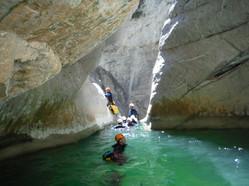 canyoning esteron riolan