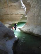 descente du canyon de riolan