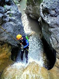 canyoning de Balene | Moustiers ste Marie | alpes de haute Provence