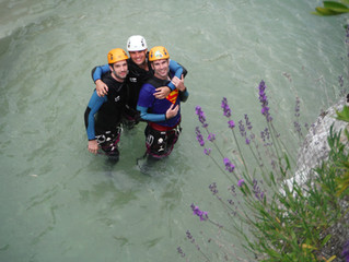 Le canyoning en Provence