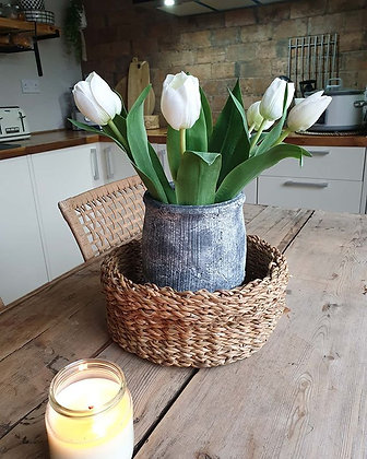 White Tulips (Set of 3)
