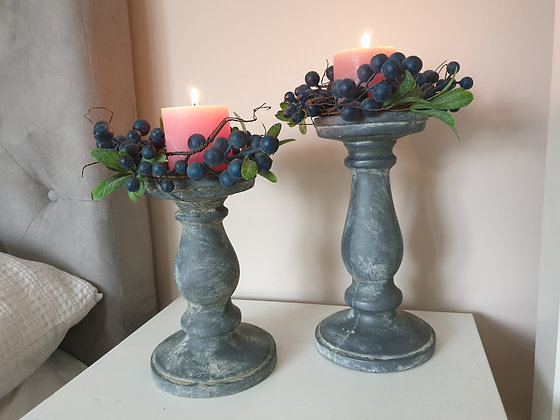 Grey Candlestick (Small)