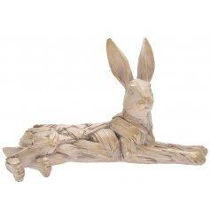 Ornamental Driftwood Lying Hare