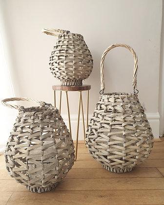 Weaved Lanterns (Set of 3)