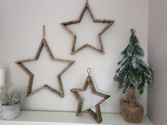 Bamboo Ratten Stars (3 sizes)