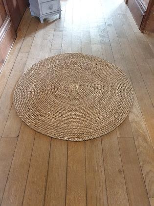 Seagrass Round Natural Mat