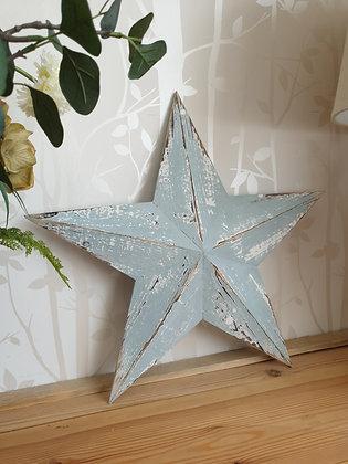 Blue Amish Barn Star