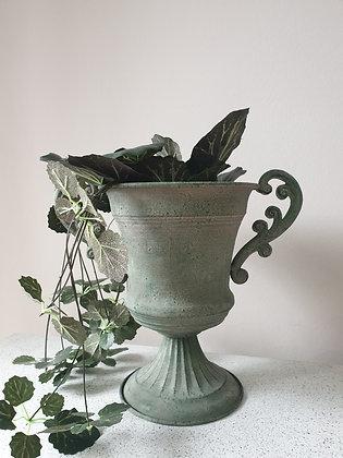 Antique Green Delilah Urn