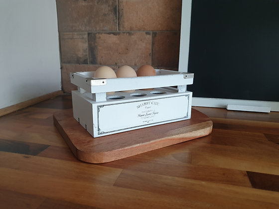 Shabby Chic Egg Crate