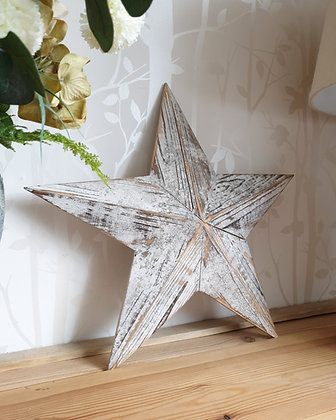 White Amish Barn Star