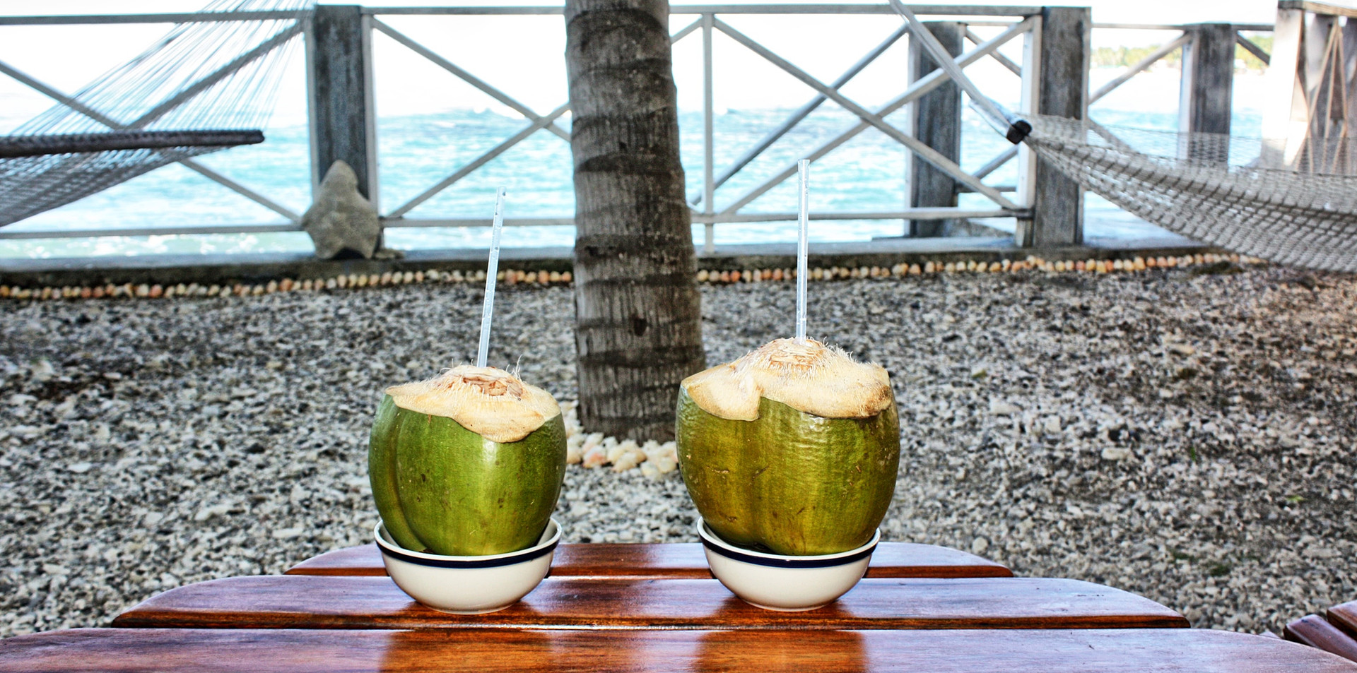 Refresh with Coconut Water