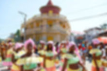 Annual Jacmel Carnival, near Coterelle Breeze
