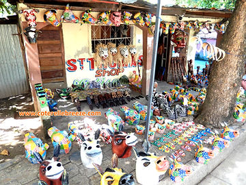 Arts and Crafts in Jamel, near Coterelle Breeze