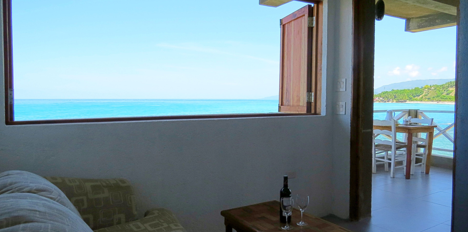 Your Studio with Private Ocean Balcony