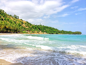 Kabik Beach in Jacmel, Haiti