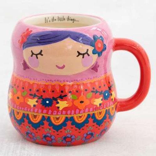 """Tasse """"Folk Nesting Doll"""""""