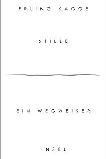 """Buch """"Stille"""""""