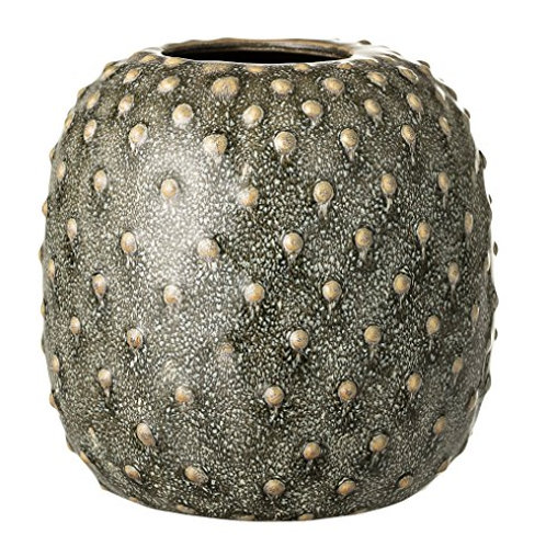 Bloomingville Vase dunkelgrün
