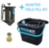 RINSEKIT Kombipaket für 147€ inklusive Adapter und Field Fill Kit