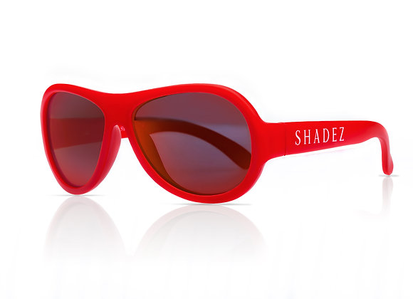 Shadez Kinder-Sonnenbrille rot, 0-3 Jahre