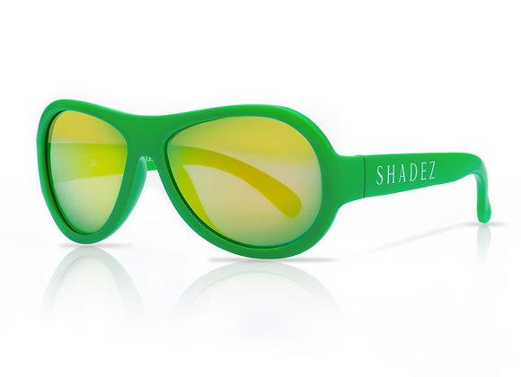 Shadez Kinder-Sonnenbrille grün, 7+ Jahre