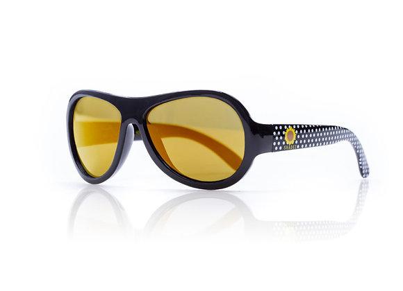 Shadez Kinder-Sonnenbrille Polka Dots Sonnenblume,  3-7 Jahre