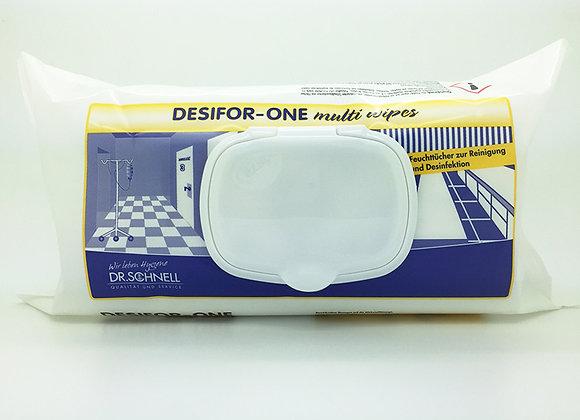 Desifor-One Multiwipes Flächendesinfektion, 100 Tücher