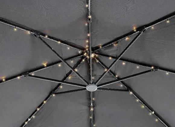 LED Solar Sonnenschirm-Lichterkette