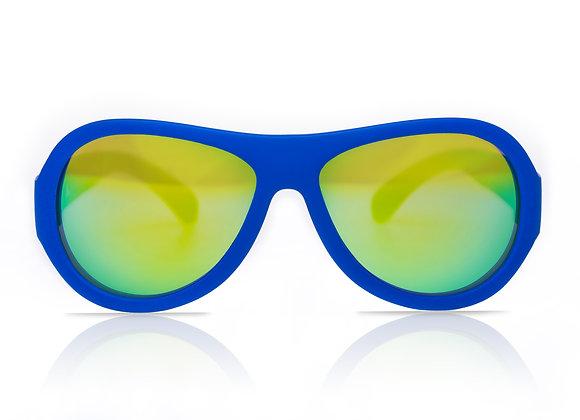 Shadez Kinder-Sonnenbrille blau, 3-7 Jahre