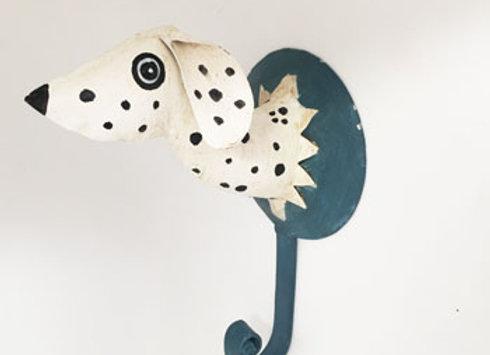 Dalmatiner Duett Wandhaken, einzeln