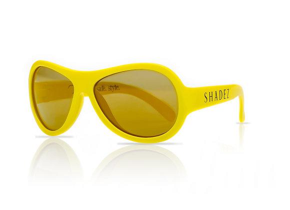 Shadez Kinder-Sonnenbrille gelb, 0-3 Jahre