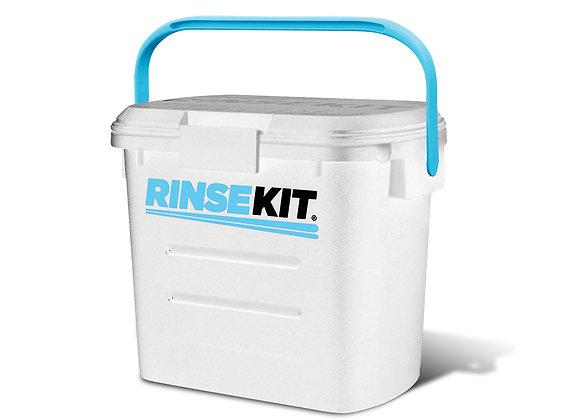 RINSEKIT - Die mobile Dusche, weiß inkl. Adapter