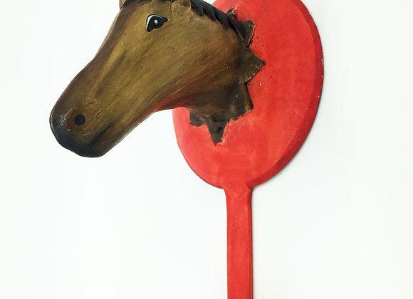Pferdekopf - Kleiderhaken