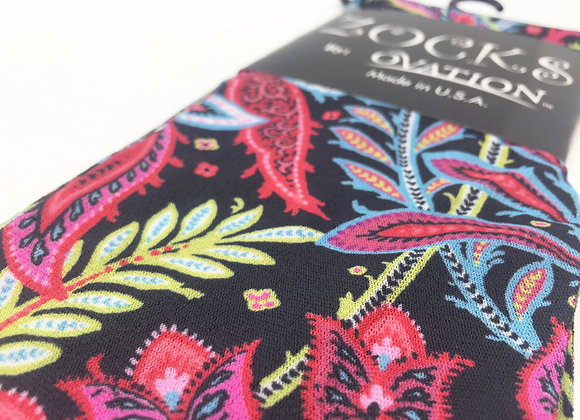 ZOCKS Reiterstrümpfe Kniestrümpfe, Lexi große Blumen