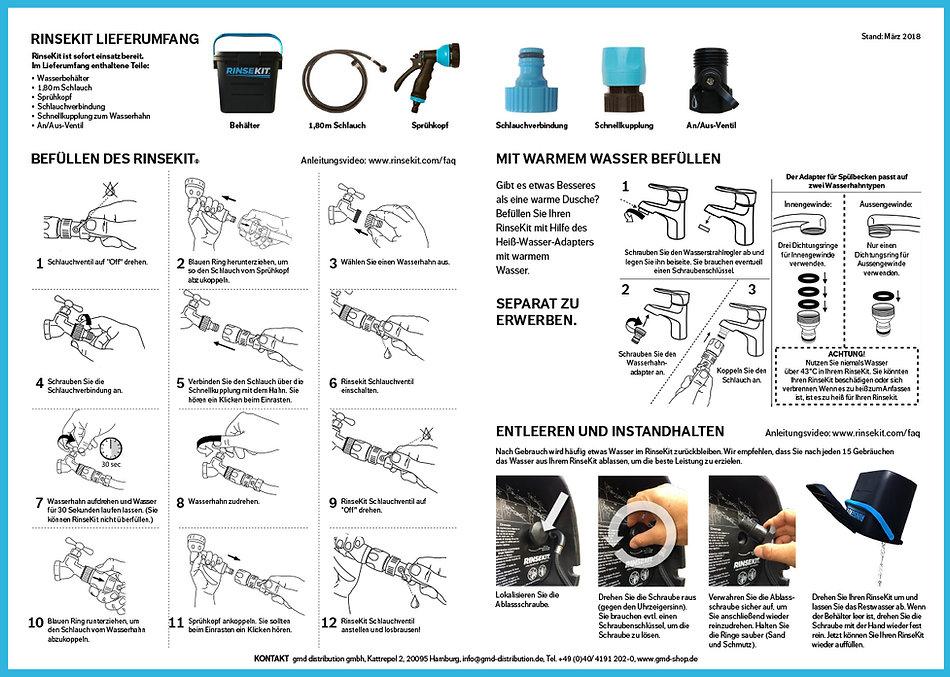 RinseKit Gebrauchsanweisung als Download