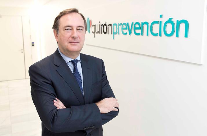 """Leopoldo Alvárez (Quirónprevención): """"El concepto acuñado por la Organización Mundial de la Sal"""