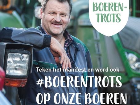 Wij zijn #boerentrots