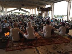 Singing with Guru Shabad Band