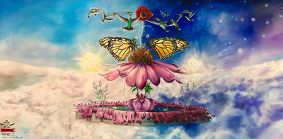 Butterfly Garden by Erick Stow
